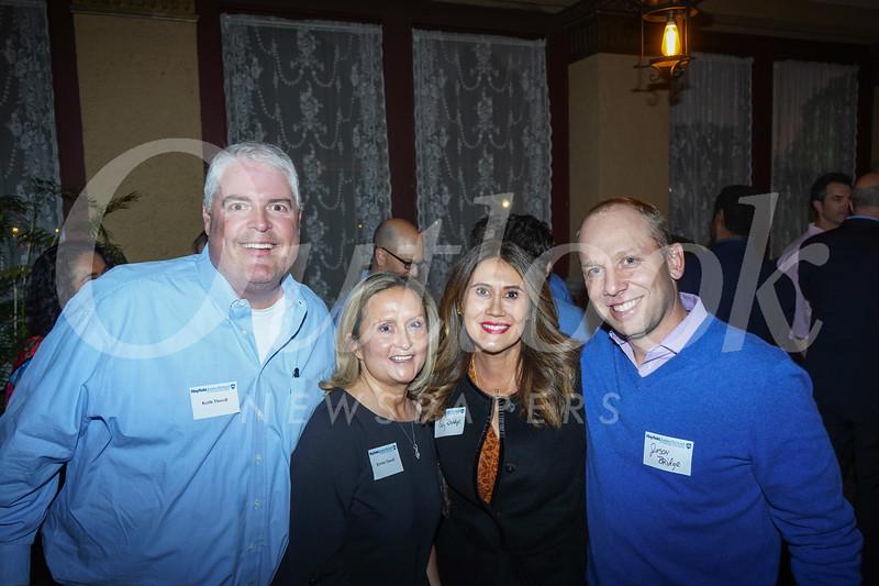 Keith and Kristin Thorell with Evy and Jason Bridge