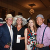 Mark and Alison Gamble with Heather and Weber Chen