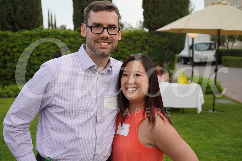 Tyler Galloway and Tricia Mok Galloway