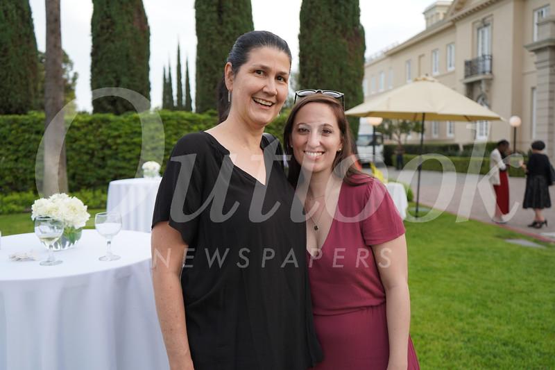 Theresa Peters and Mary Kaminski Bomar