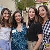 Alyssa Bicos, Nora Sassounian, Kelsey McCullough and Catherine Nally