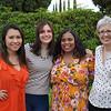 Kayla Yokoyama, Carolyn Cota, Abeni Carr and Ann Bussard