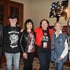 Joe Eisele, Skip Morin, Diana Eisele, Head of School Kate Morin, honoree Kathleen Regan and Alex Eisele