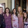 Patty Wickman, Monica Schmid, Isabel Schmid, Ella Jackson and Claire Jackson
