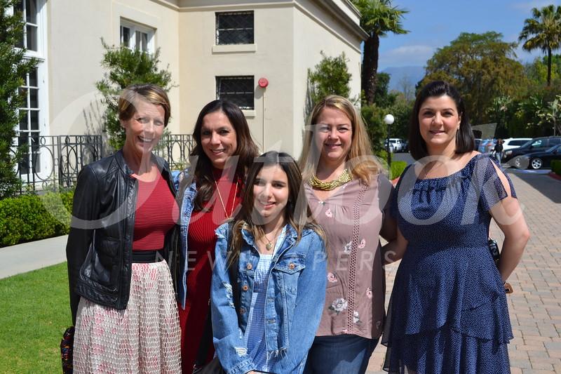 Isabella Alcaino-Gordon (front). Back: Jennifer Getzewich, Claudia Alcaino, Kristin Kaminski and Jasmine Tatevossian Megrabyan.