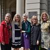 Vicki Howell, Karen Schumacher-Poindexter, Kathleen Clary Miller, Cathy Carmack Jones and Kathy McCloskey Leber