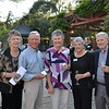 Freya Schmus, Norm Hayes, Ellen Harlan, and Karen and Bill Walter