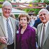Dennis and Evelyn Carpenter with Bob Hiller