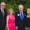 Emcee Fritz Coleman, Robin Harvill, and Bob and Jeanne Reed