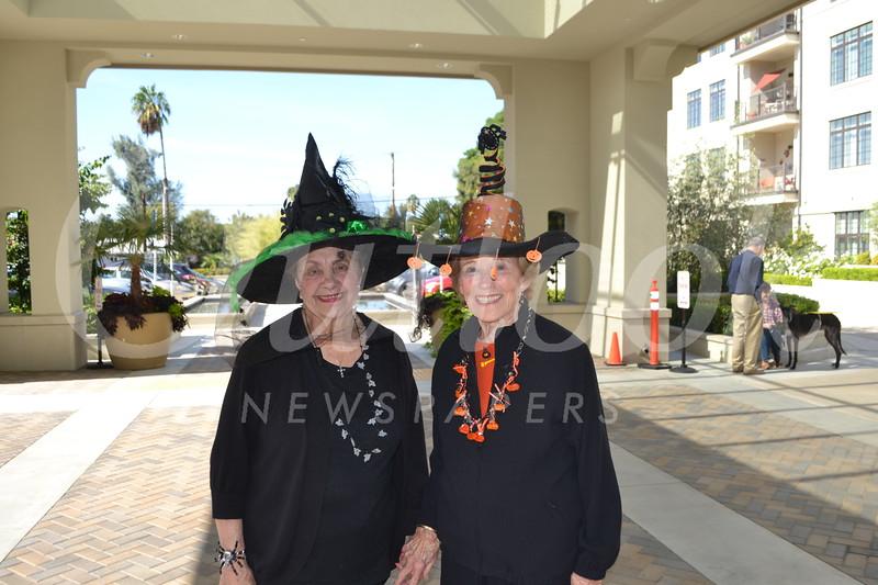 Sondra DeJardin and Rita Coulter