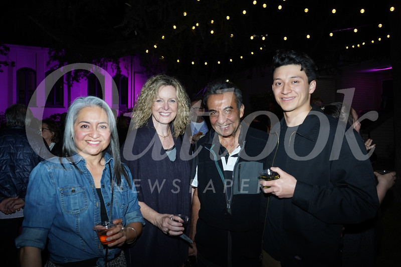 Margo Morales, Noreen Sullivan, Azim Khamisa and Ethan Morales Fuller