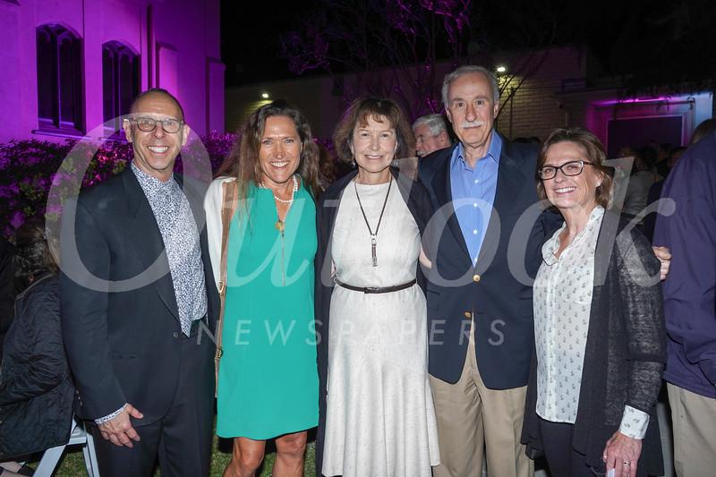 Ron Silverman, Janet Westergaard, Liz and Lou Altman, and LeeAnn Havner
