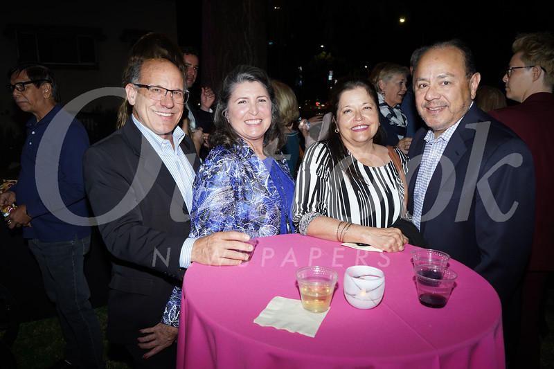 Paul and Diane Branks, Gina De Regil and Adolfo Molina