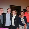 Mark Cohen, Len and Nancy Jacoby, Anna Butturini and Joe Regan