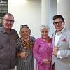 Max Brennan, Sigrid Burton, Julie Campoy and Chuck Jones