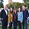Jerry and Terri Kohl, Rachael Worby, and Ellen and Dominic Ng