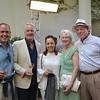 Pete Kutzer, Stephen Godwin, Mona Delahooke, and Diane and Bill Cullinane