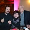 Ben Gibbs with Jeannette and Warren Martin