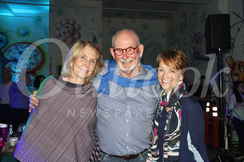 Diane Wittenberg, Dave Minning and Nancy Harahan