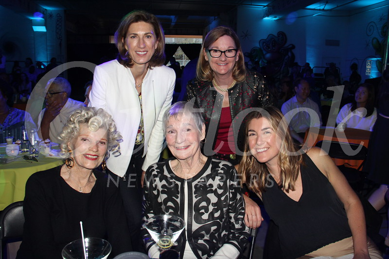 Joni Smith (seated, from left), Alyce Williamson and Lauren Fallat. Back: Robin and Ruth Williamson.