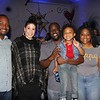 Marvin and Kristen Speller, Kevin and Lennix Simon, and Jaclyn Ricks