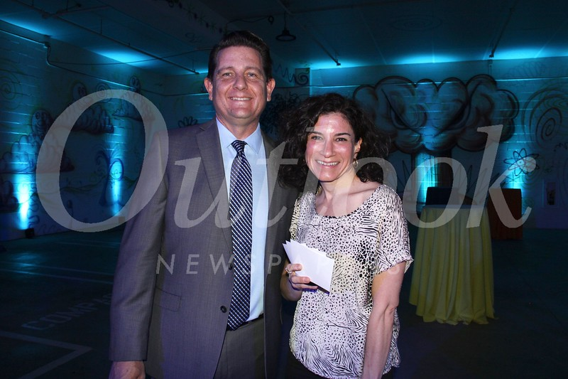 Brian Colburn and Lisa Bellamore