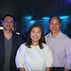 Roger Huang, Linda Chang and Gary Lee