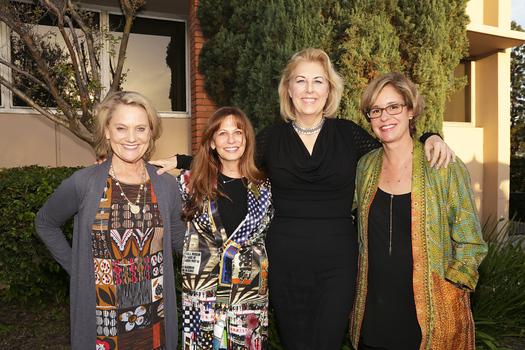 Jaynie Studenmund, Rachael Worby, Dr  Lori Morgan and Jane Haderlein