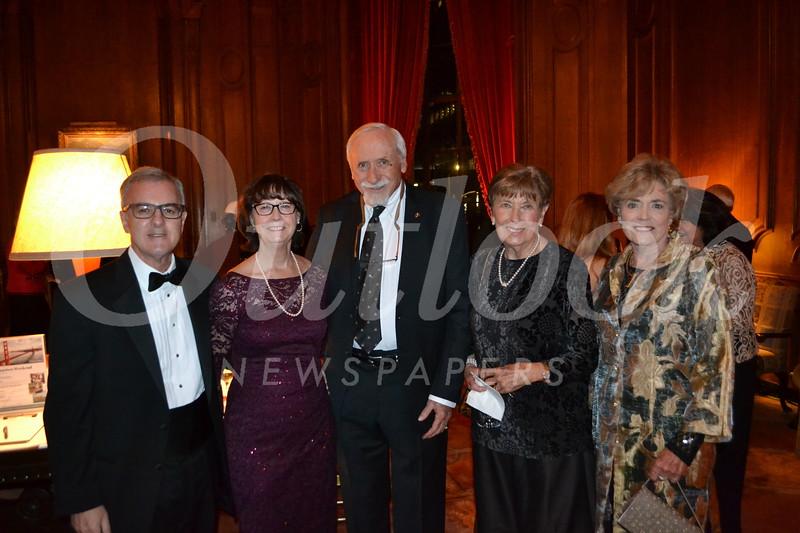 Bob and Barbara Miller, John and Ginny Cushman, and Linda Massey