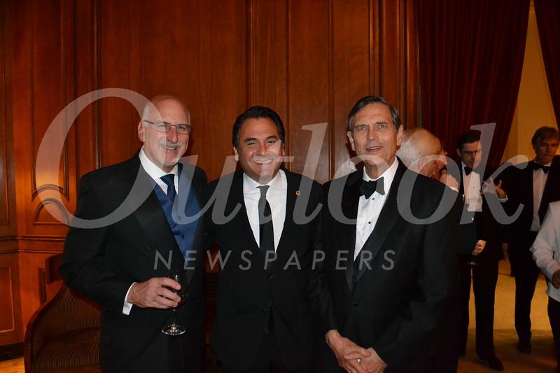 Jim Ciampa, Herman Quispe and Stephen Acker