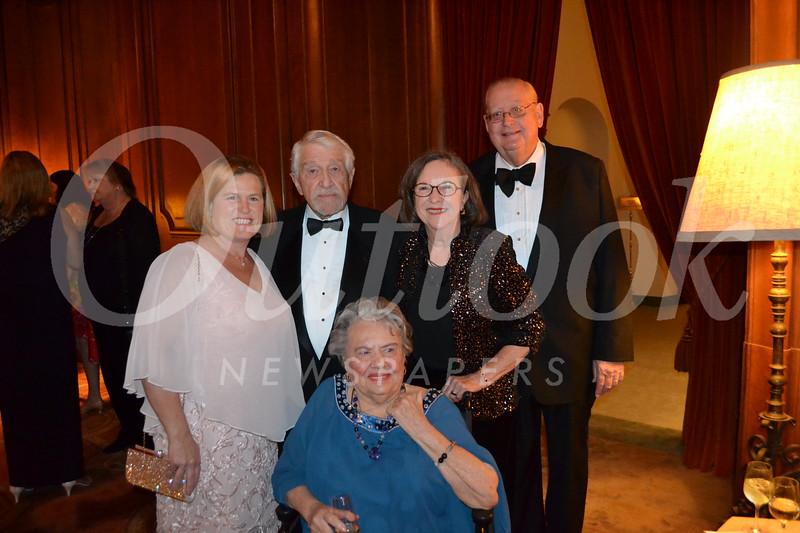 Lacreta Scott (seated). Back: Erika Endrijonas, Jack Scott, and Judy and Bill Opel.