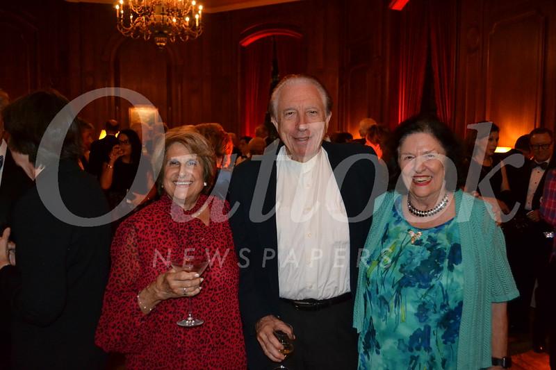Rita Elshoud with Larry and Petite Morrison