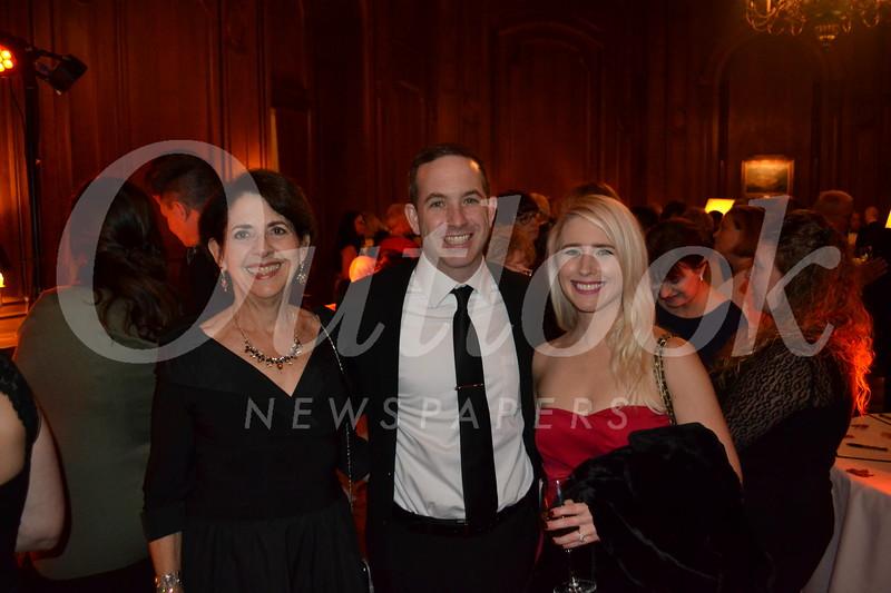 Diane Rankin with Tom and Megan Smith