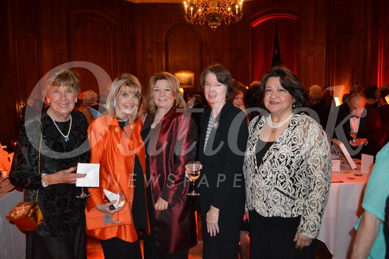 Ginny Cushman, Nancy Davis, Bobbi Abram, Julie Gallant and Sandi Mejia