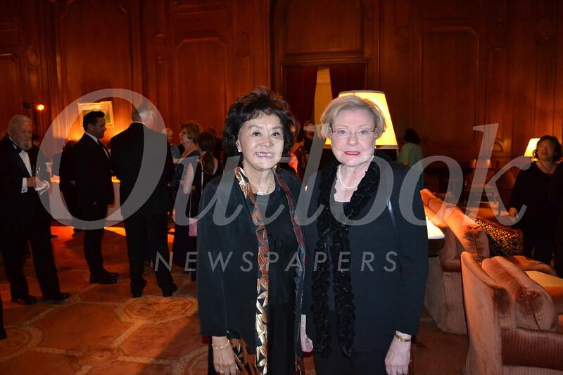 Linda Chang and Libby Wright