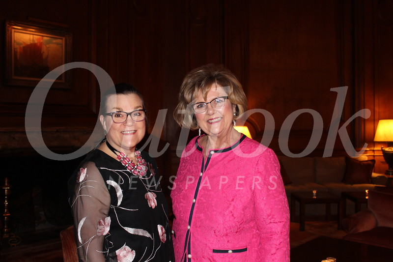 Executive Director Jeannette O'Malley and Karen Craig