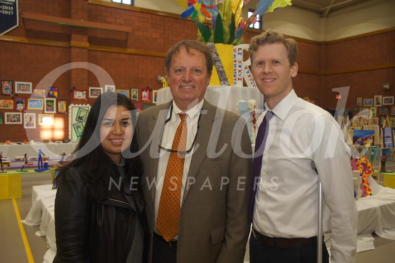 21 Leila McCarrey, Head of School Joe Gill and Neibaur McCarrey