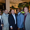 Robert Montano, John Hamblen, Michael Ross, Vice Mayor Tyron Hampton and <br /> Brian Wallace