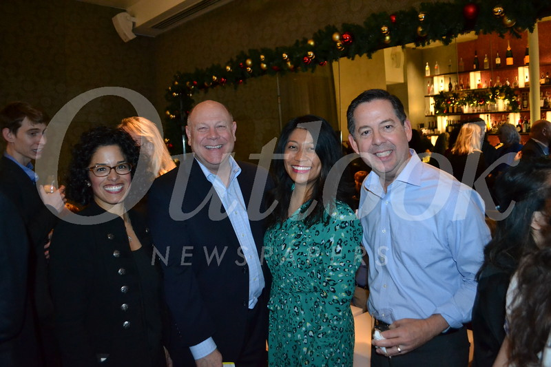 City of Pasadena special projects manager Michelle Garrett, Pasadena Center Operating Co. CEO Michael Ross, company marketing director Christine Susa and Pasadena Economic Development director Michael Duyshart