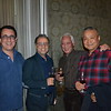 Greg McLemore, Cafe Santorini owner Panos Haitayan, Dale Okuno and Richard Kim