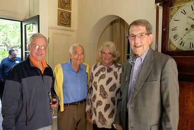 Chuck Livingstone, Bob and Nancy Dini, and Bill Bogaard