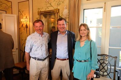 Philip Putnam, Brad Hanson and Joan Aarestad
