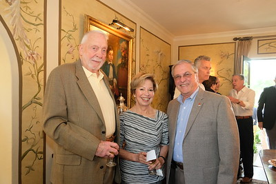 Rod and Toni Burgoyne with Mayor Terry Tornek