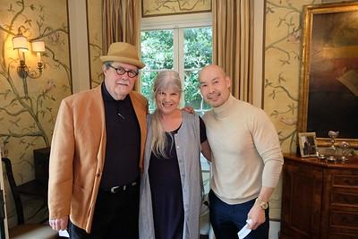 Jim and Tina Hart with Gabriel Yeung