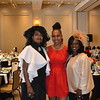 Cheryl Myers, scholarsip recipient Nia Cathcart and Ashana Thorman