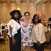 Cheryl Myers, scholarship recipient alena DeVaughn and Ashana Thorman