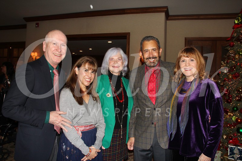 Sheldon and Annette Bull, Diana Peterson-More, and PCC Foundation President Bill Hawkins and wife Jill