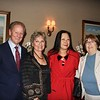 Lonnie and Lorraine Schield, Vivian Chan and Gloria Pitzer