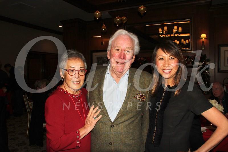 Carol Liu and Mike Peevey with Sandra Chen Lau