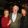 Carol Liu and Mike Peevey with Sandra Chen Lau